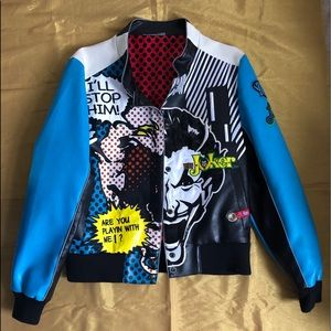"""Rare and Vintage """"The Joker"""" DC Lot 29 Jacket.S"""